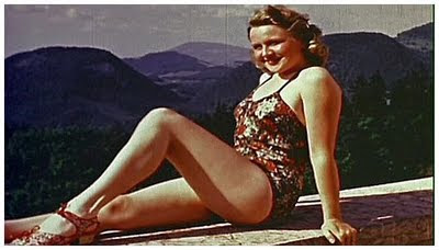 Eva Braun in swimsuit
